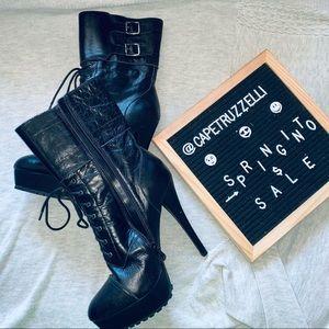 BEBE 6INcH heel boots